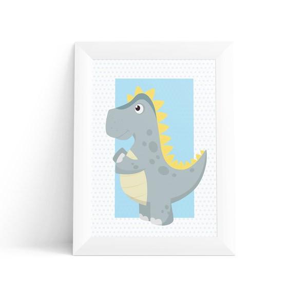 Quadro Dinossauro T-Rex