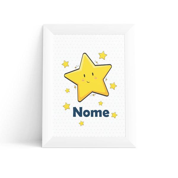 Quadro Estrelas com Nome