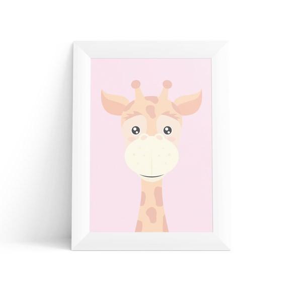 Quadro Girafa Feminino