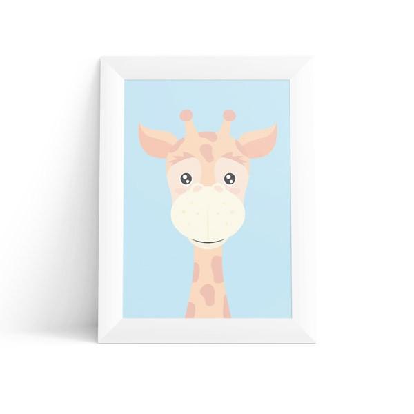 Quadro Girafa Masculino
