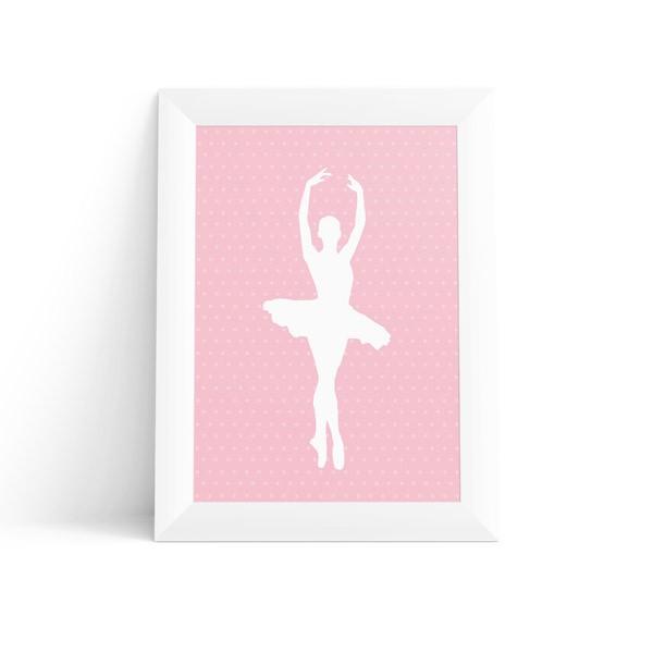 Quadro Infantil Bailarina
