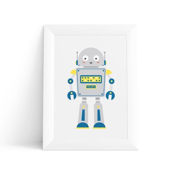Quadro Robô