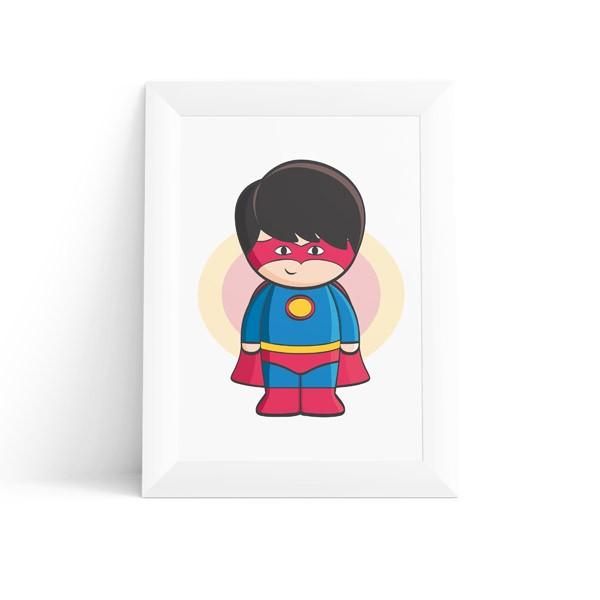Quadro Super Herói