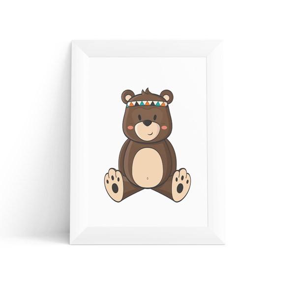 Quadro Urso Baby