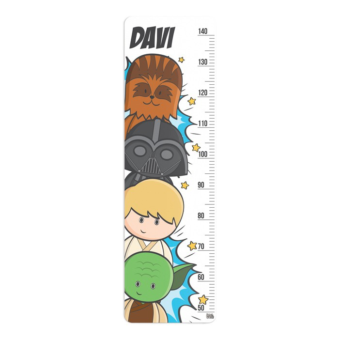Régua de Crescimento Star Wars