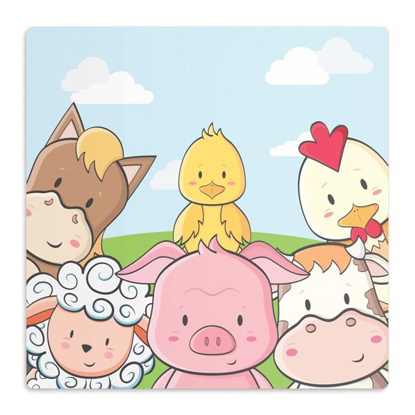 Tapete Animais da Fazenda