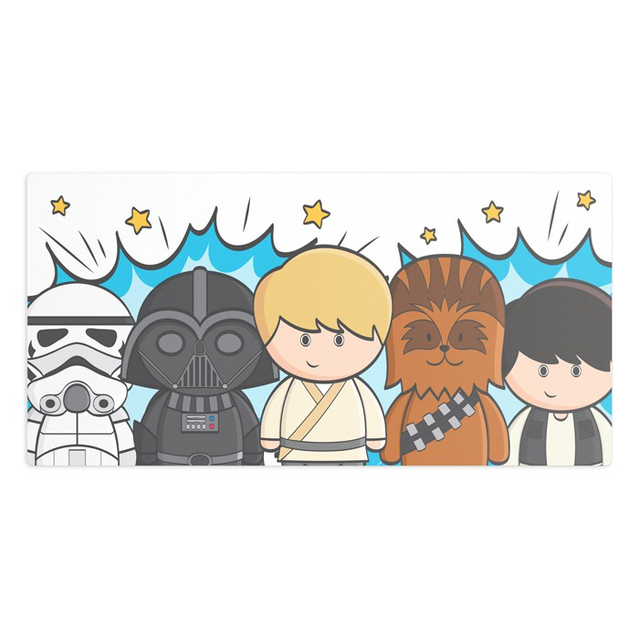 Tapete Fantasia de Star Wars
