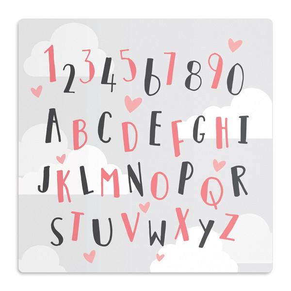 Tapete Letras e Números
