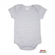 Body Bebê - Mescla Branco  - Liso