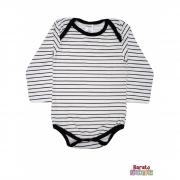 Body Bebê Manga Longa (P/M/G) - Listrado