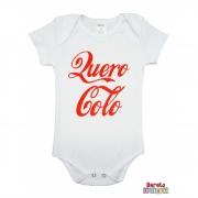 Body Bebê MC (P/M/G) - Quero Colo - Barato Bebê - Branco