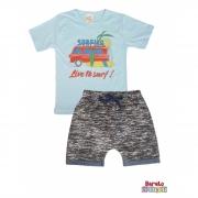 Conjunto Infantil Menino Azul- Surfing