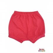 Shorts(Tapa Fralda) Bebê(P/M/G)  - Barato Bebê - Cereja c/ Glitter