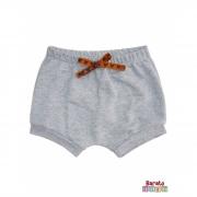 Shorts(Tapa Fralda) Bebê(P/M/G)  - Barato Bebê - Mescla C/ Laço