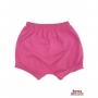 Shorts(Tapa Fralda) Bebê(P/M/G)  - Barato Bebê - Pink c/ Glitter