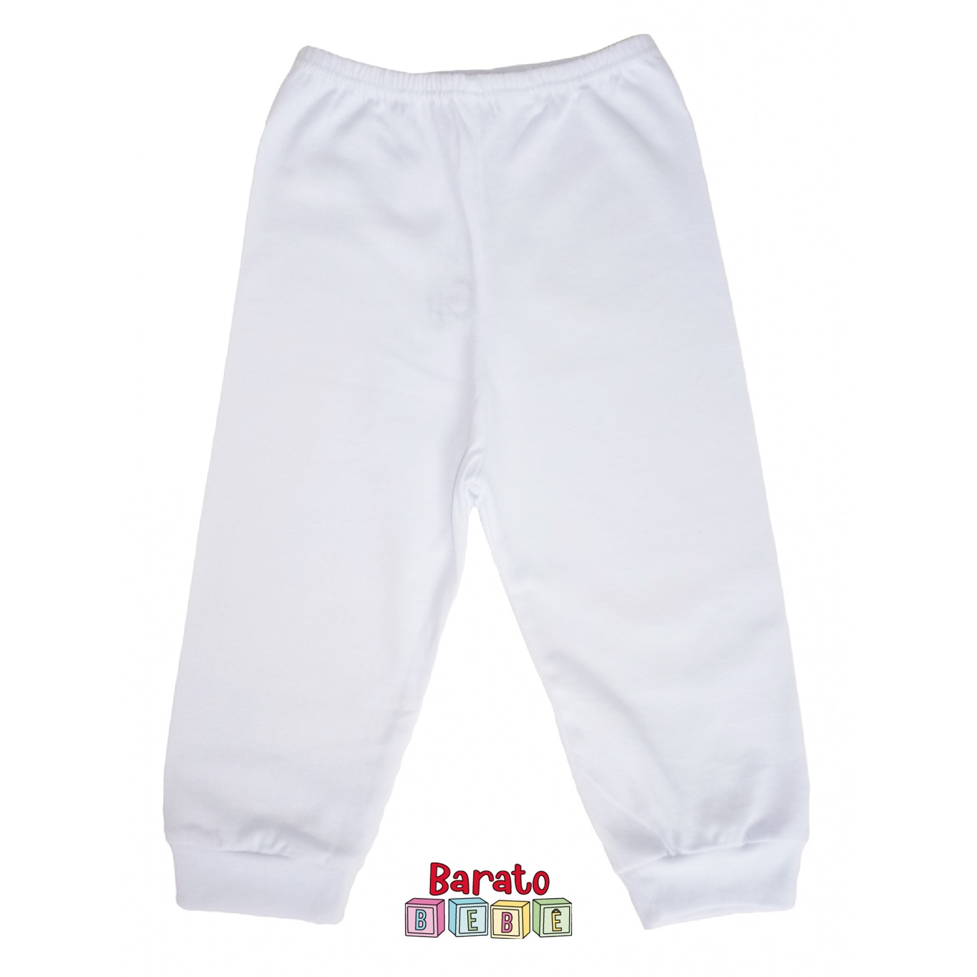 Conjunto Body Bebê Unissex– Branco (RN-P-M-G)