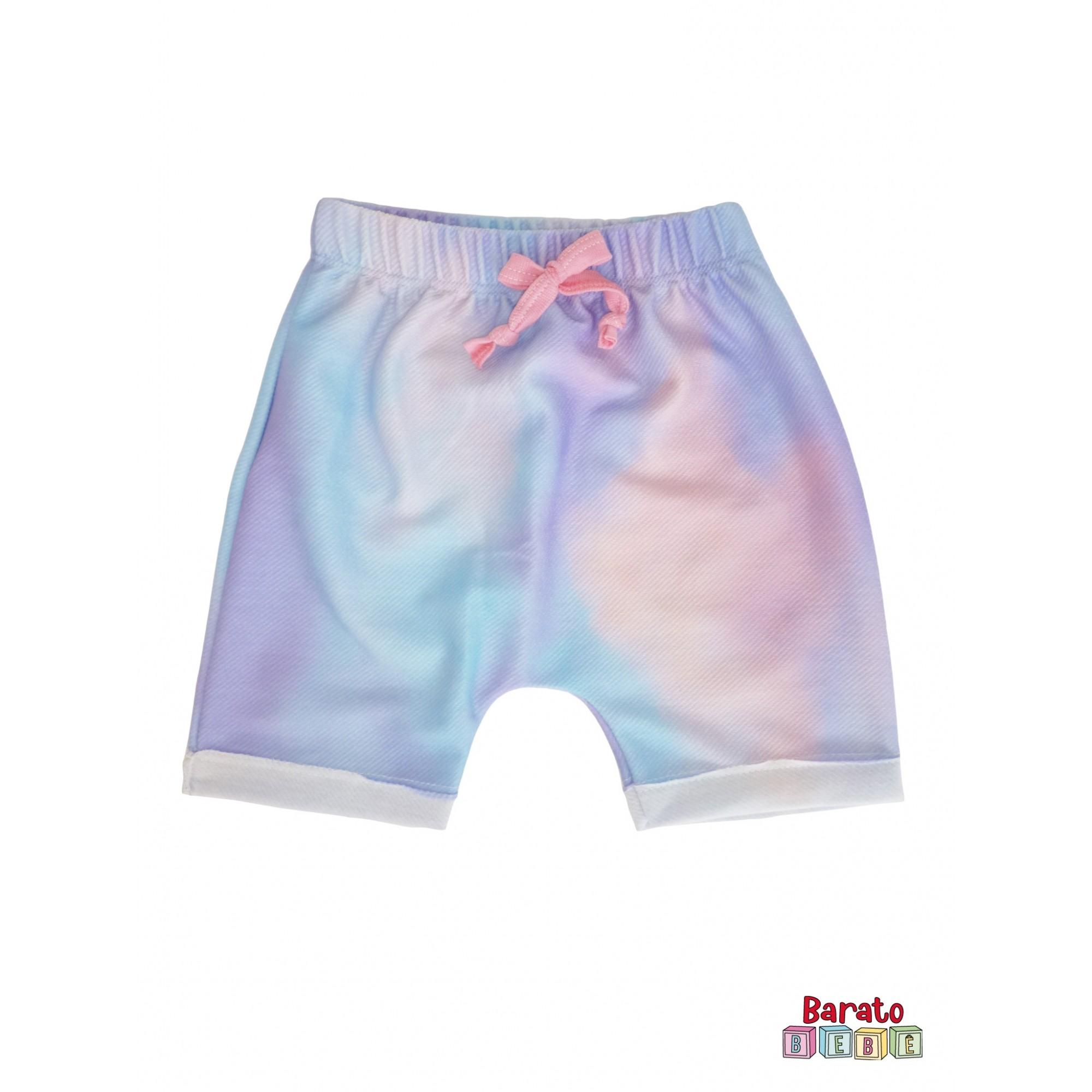 Conjunto Infantil Menina Rosa - Estampa Baleia