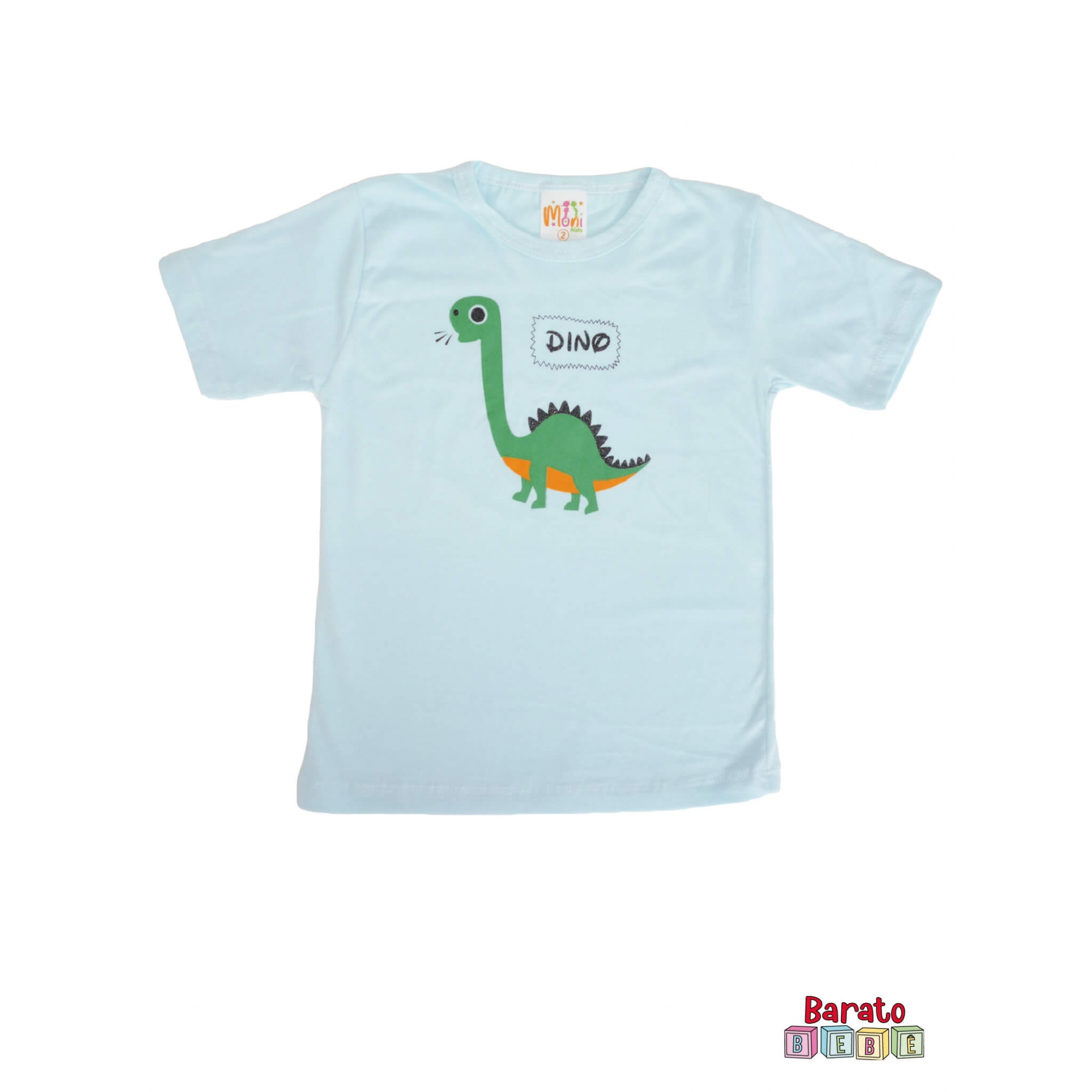 Conjunto Infantil Menino Azul- Dinossauro