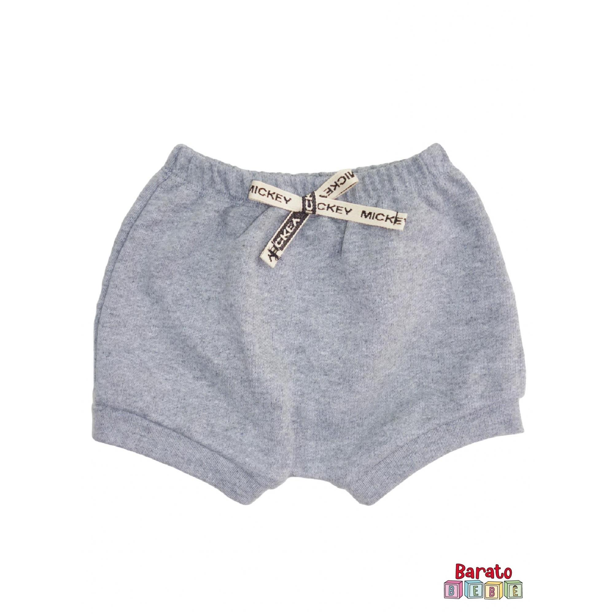 Shorts(Tapa Fralda) Bebê(P/M/G)  - Barato Bebê - Mescla C/ Laço Tematico