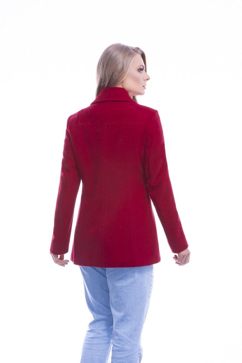 Blazer longo velour lã