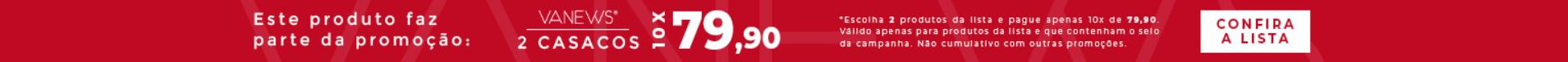 2 Casacos por 10x R$79,90