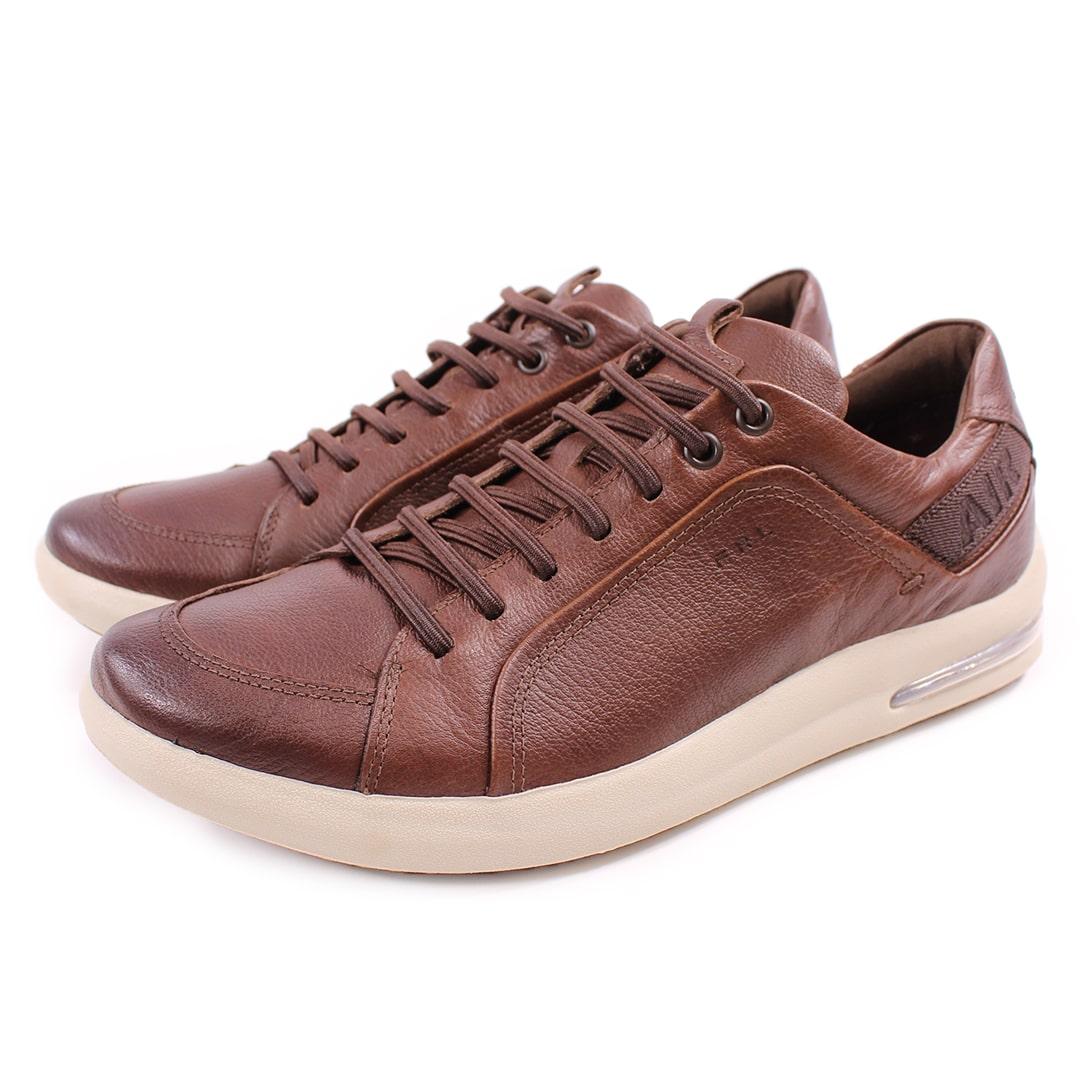 Sapato Casual Masculino Ferricelli Air Envision Denver Tan Are56610