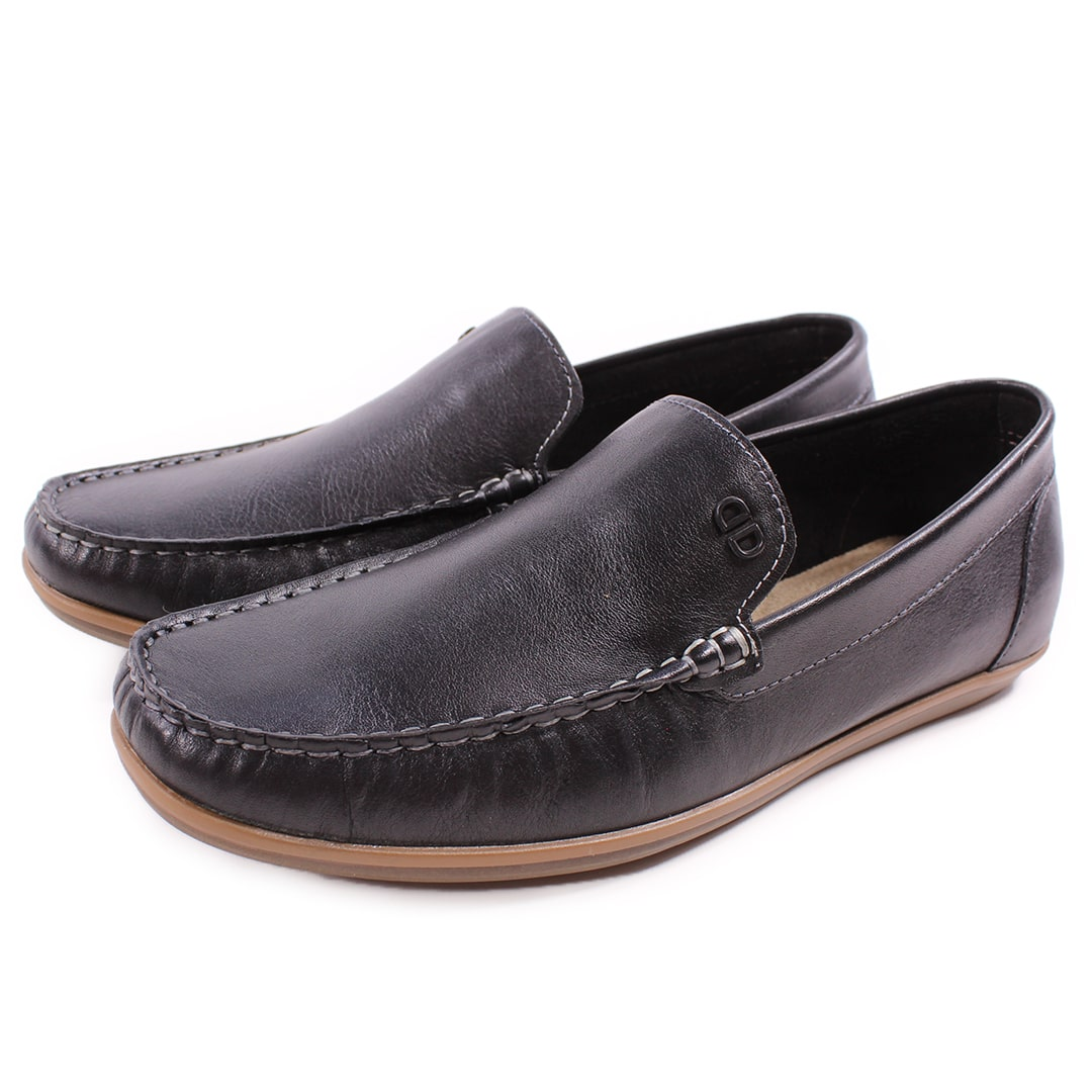 Mocassim Denim Tag Preto