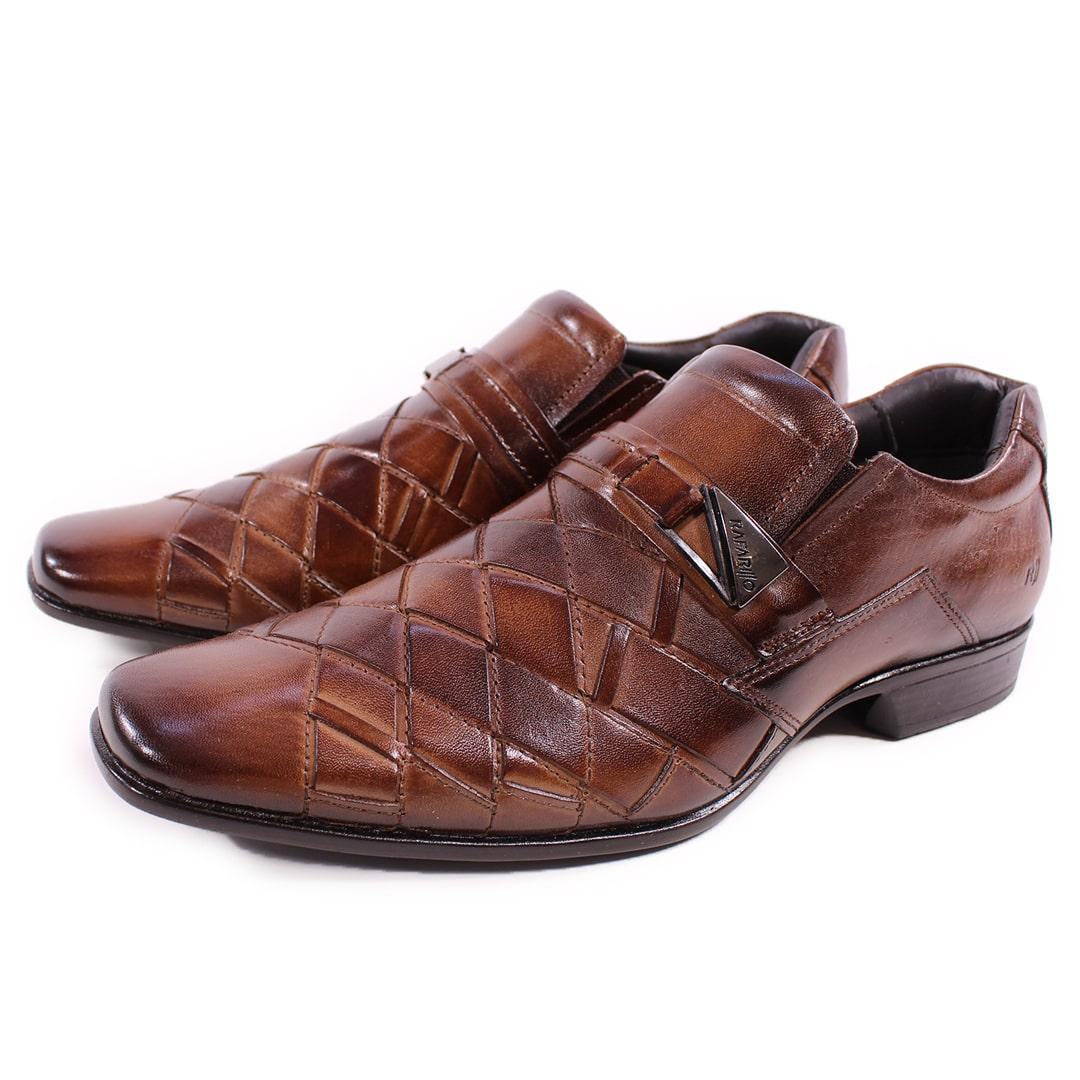 Sapato Rafarillo Las Vegas Couro Conhaque