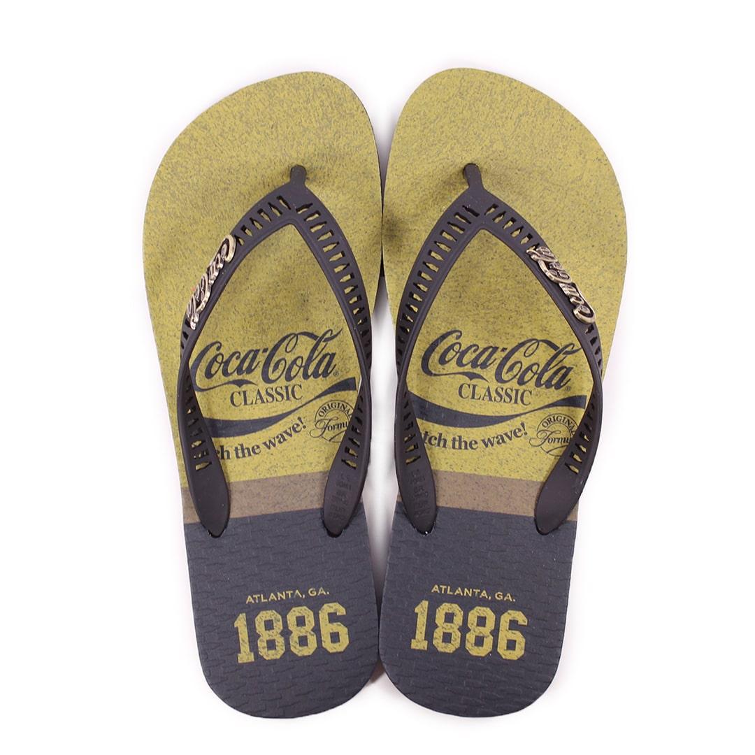 Chinelo Masculino Coca Cola Classic Wave CC3027