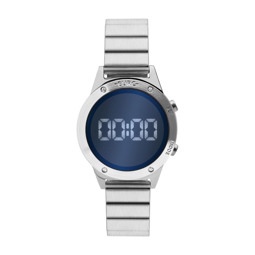 Relógio Feminino Euro Espelhado Digital