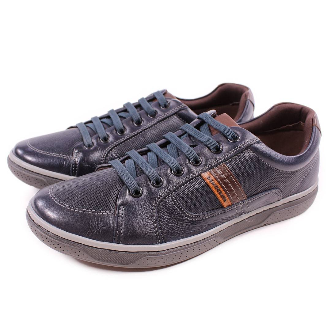 Sapatênis Democrata Denim Board Navy/Tabaco