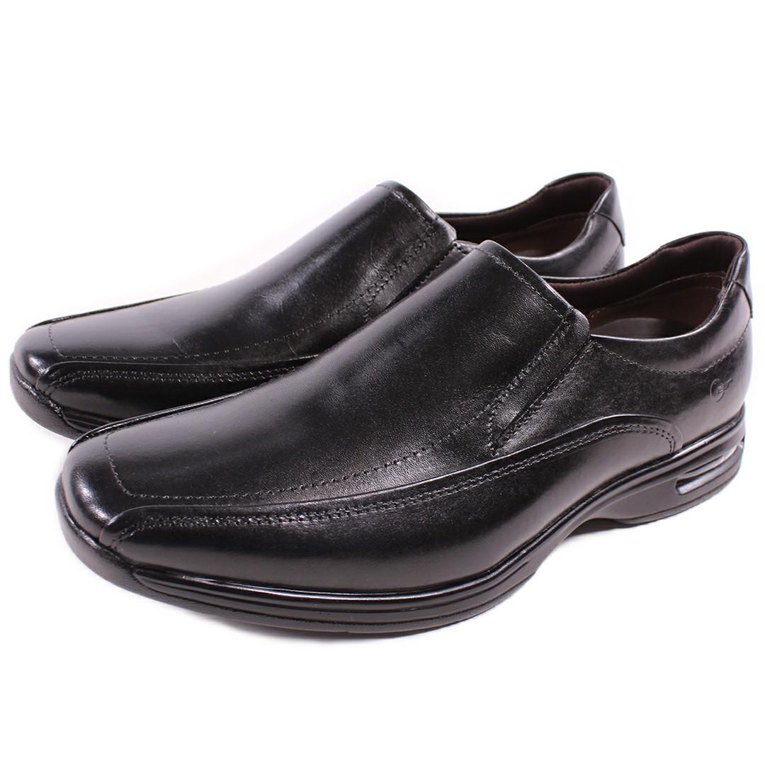 Sapato Democrata Smart Comfort Air Spot Preto 448027-003