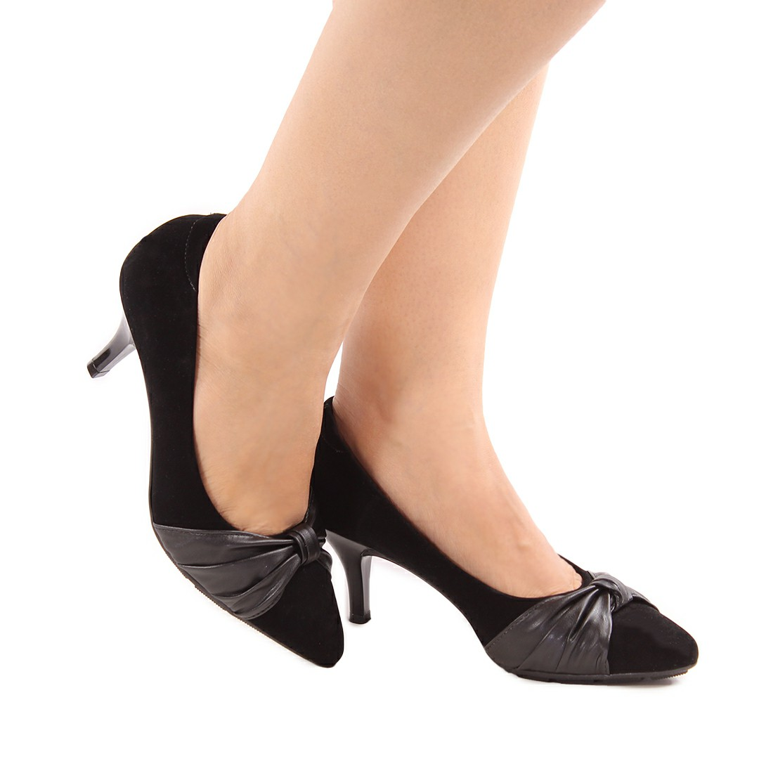 Sapato Feminino Modare Nobuck Nice Glam/Pele Strech 7013.649