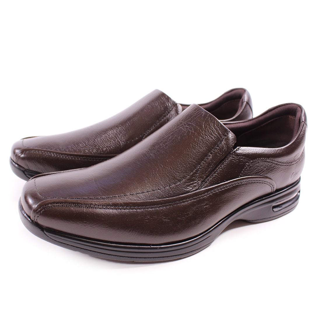 Sapato Democrata Smart Comfort Air Spot Brown
