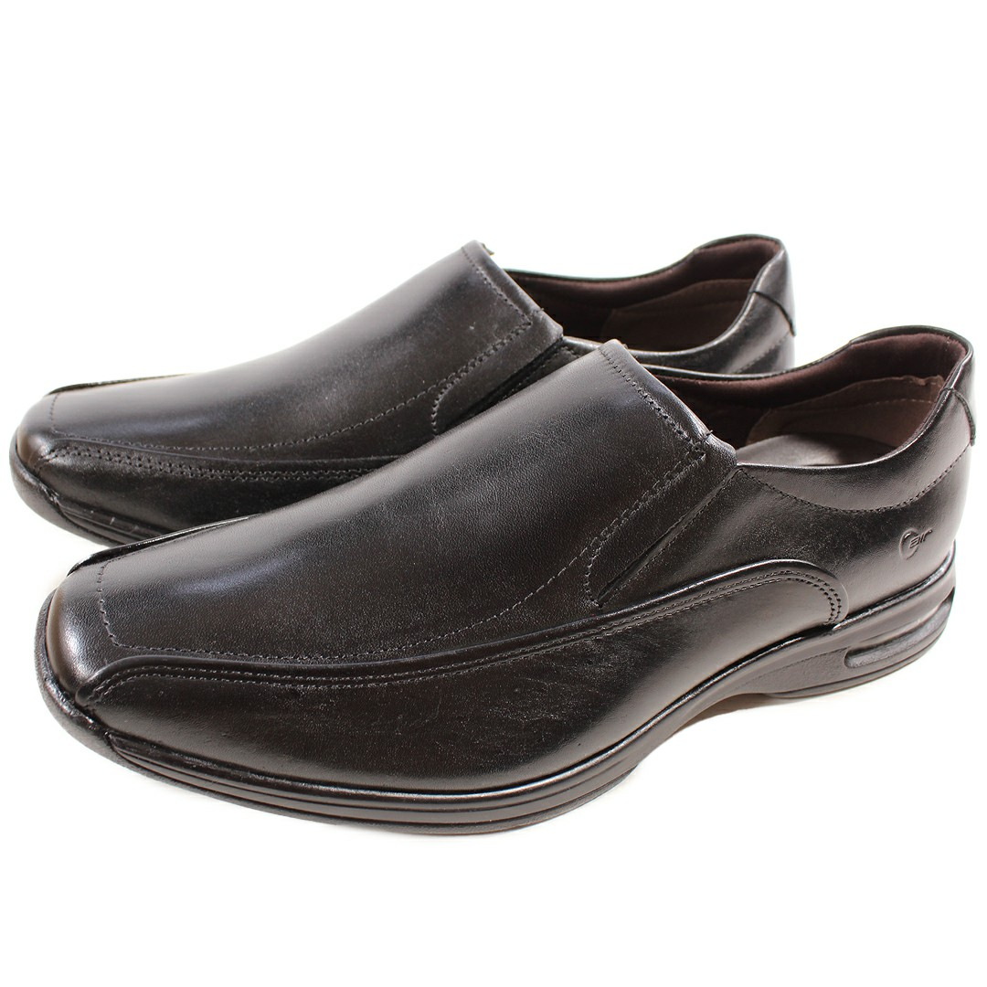 Sapato Masculino Democrata Smart Comfort Air Spot Preto