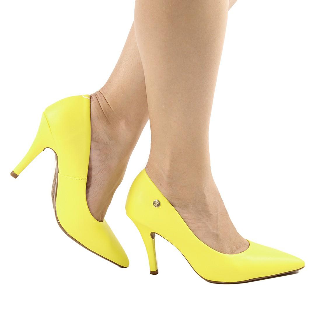 Sapato Scarpin Vizzano Feminino Pelica Colors