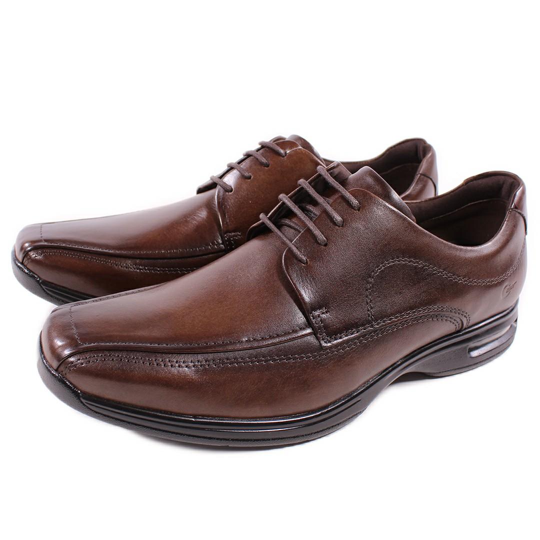 Sapato Smart Comfort Air Spot Tabaco Cadarço 448026-004