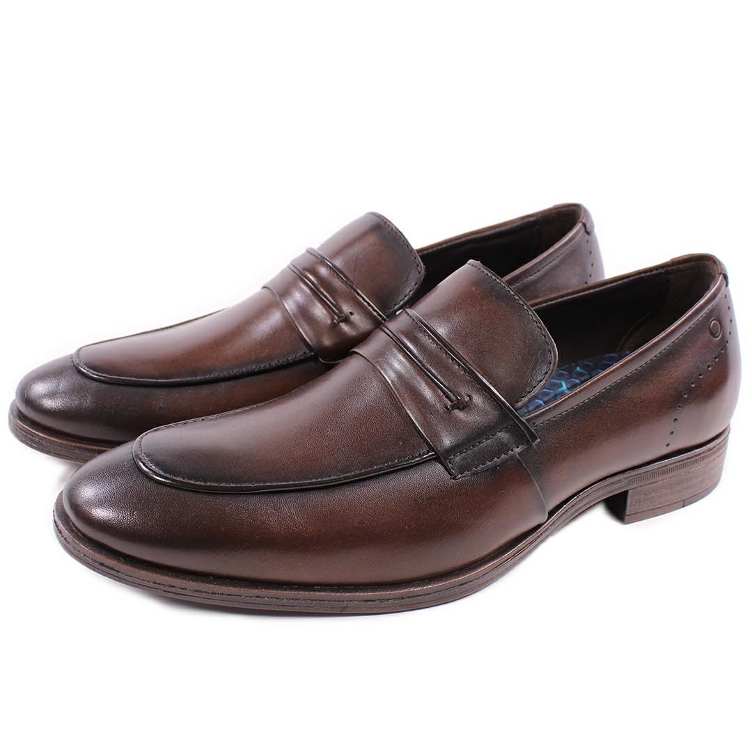 Sapato Smart Comfort Madison Hi-Soft 32 Tabaco 255102-002