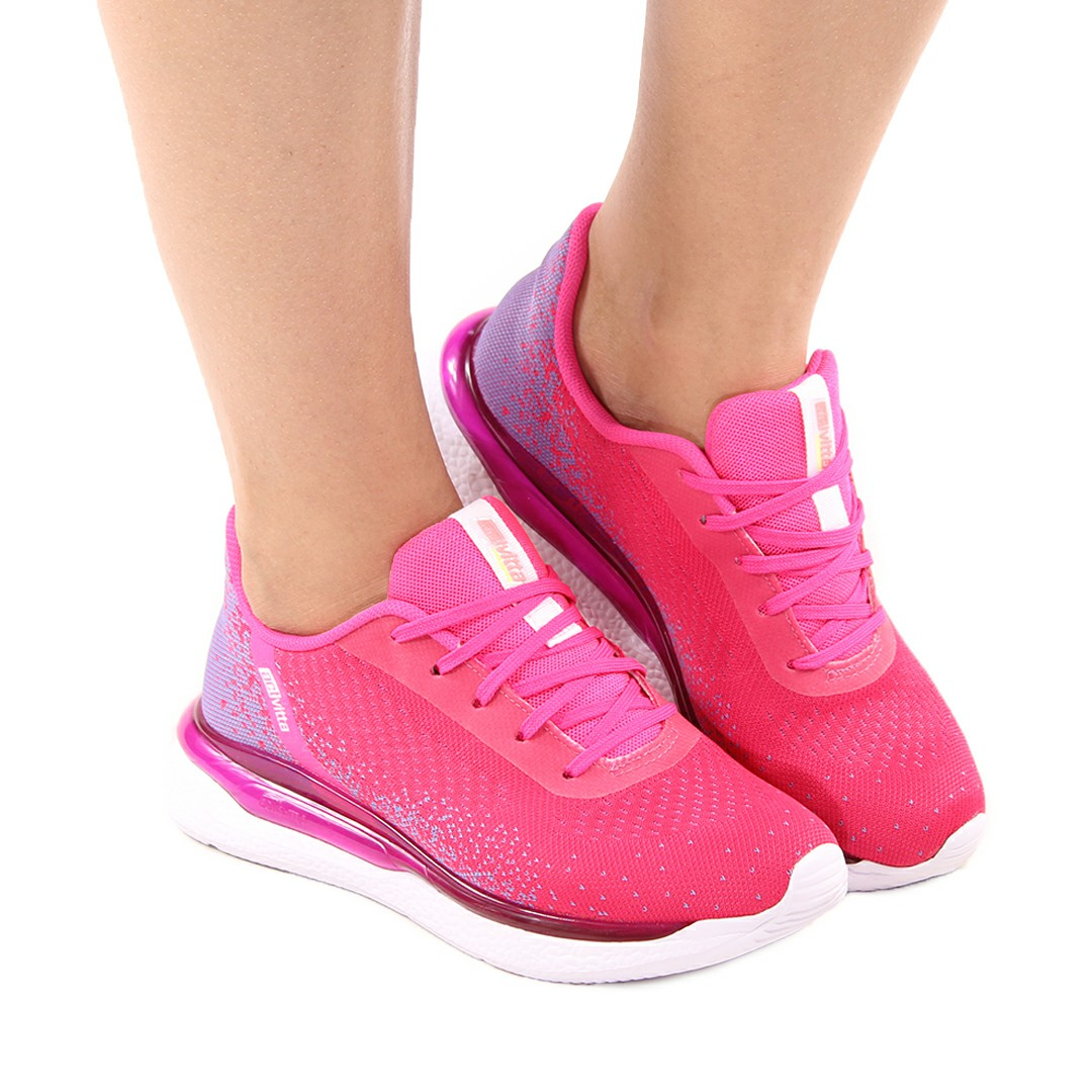 Tenis Feminino Actvitta Gaspea Local Vichy/Nylon Flat/Pink Neon/Violeta Azul/Neon 4820.102
