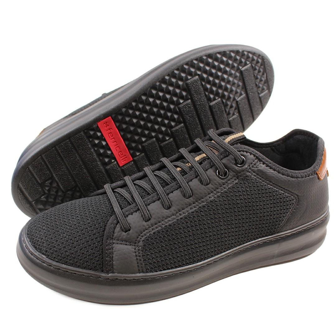 Tênis Sneaker Ferricelli Slim Flutue Preto