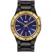 Relógio de Madeira WeWOOD Assunt MB Blue Gold