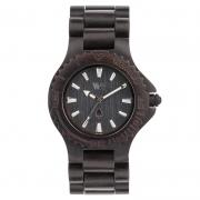 Relógio de Madeira WeWOOD Date Black