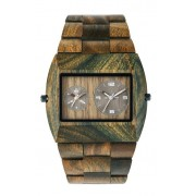Relógio de Madeira WeWood Jupiter RS Army
