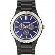 Relógio de Madeira WeWood Kappa MB Black Blue