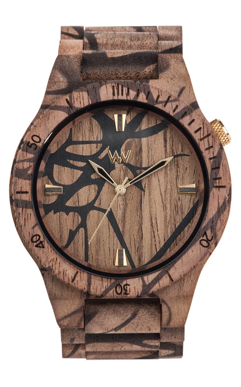 Relógio de Madeira WeWOOD Alpha Nature Tree Nut