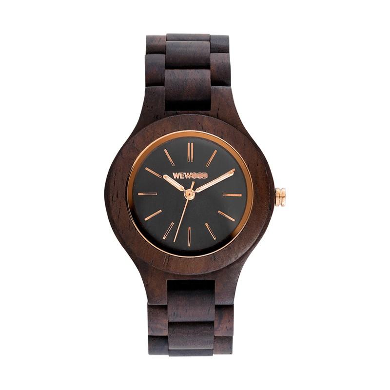 Relógio de Madeira WeWOOD Antea Chocolate