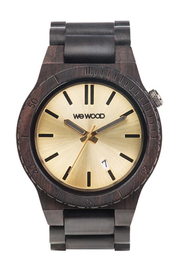 Relógio de Madeira WeWOOD Arrow Black/Gold
