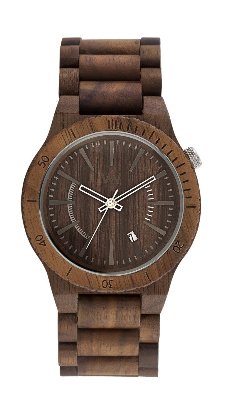 Relógio de Madeira WeWOOD Assunt Nut