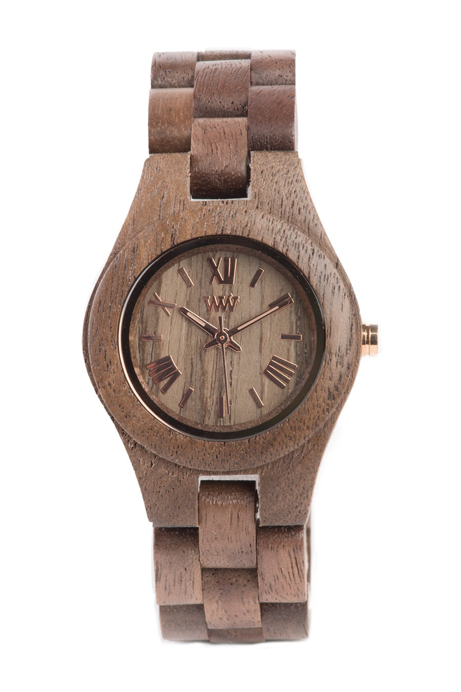 Relógio de Madeira WeWOOD Criss Nut