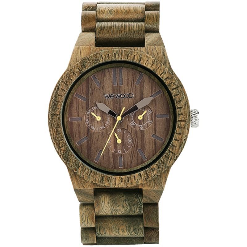 Relógio de Madeira WeWood Kappa Army